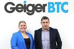 LauraBrannan and JasonDarbyshire vorschau - GeigerBTC: Neue Supplier Relationship Managerin