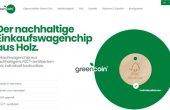 Neue Website für den Green Coin