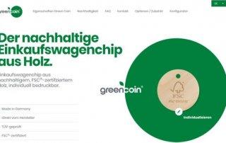 Green Coin 320x202 - Neue Website für den Green Coin
