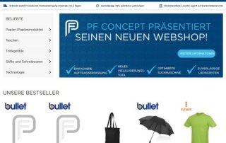 pfconcept screenshot 320x202 - PF Concept: Neuer Webshop