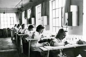 BeginnGlasveredelung 1930 - Rastal: 100 Jahre der Zeit voraus