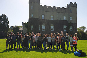 Goldstar Team Building at Malahide Castle July 2018 cropped - Goldstar: Teambuilding in Malahide Castle