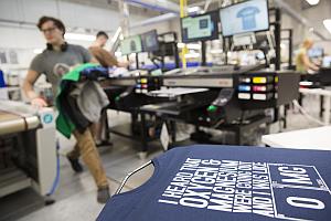 Spreadshirt Production CZ I - Spreadshirt: Neun Mio. Euro für neue Drucker