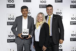 TOP 100 eurolaser Preisverleihung - eurolaser als Top-Innovator ausgezeichnet