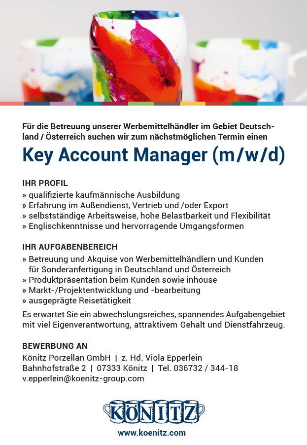 koenitz jobshop wn387 - Key Account Manager (m/w/d)