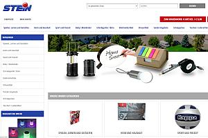 stein promotion shop - Stein: Neuer Webshop