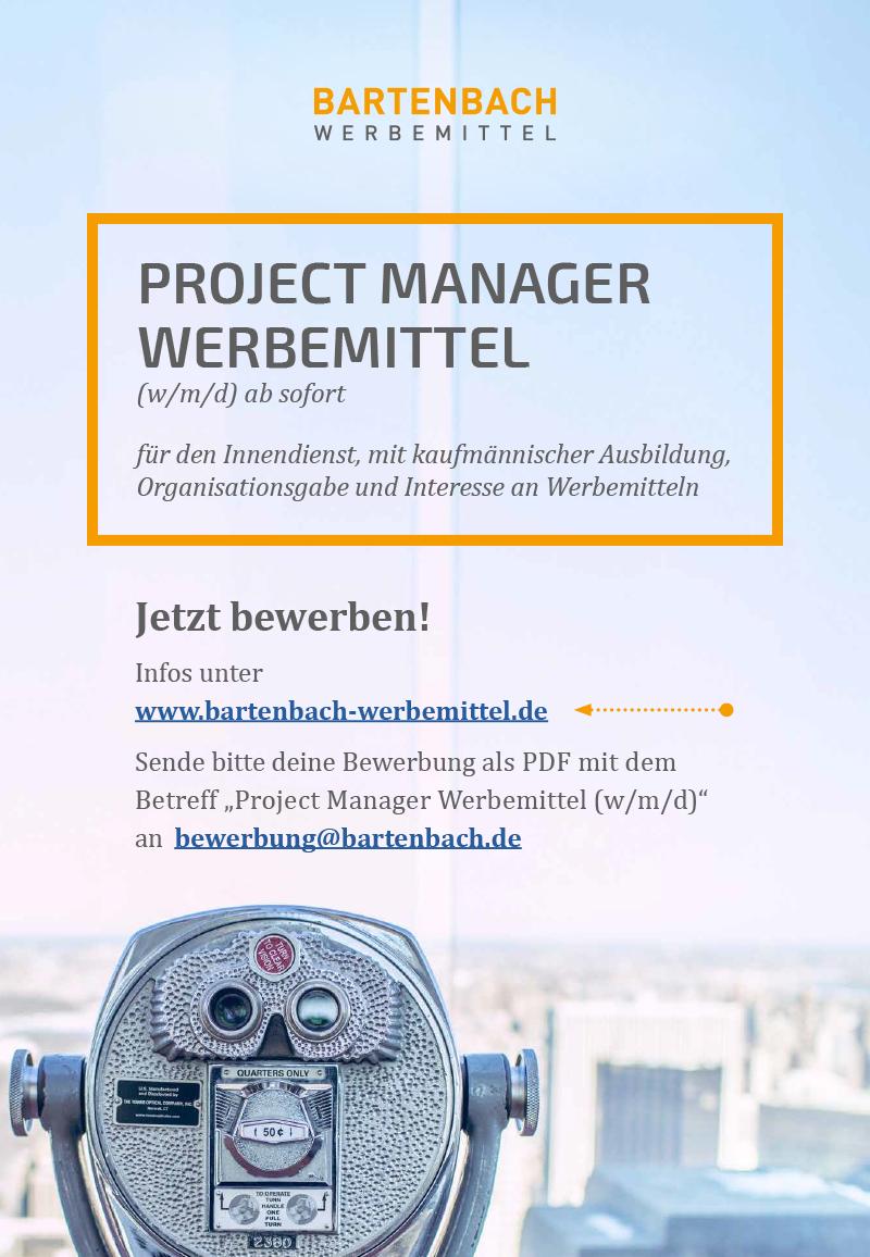 BWM 2019 026 Stellenanz PRM 01 600x867px - Project Manager Werbemittel (w/m/d) ab sofort