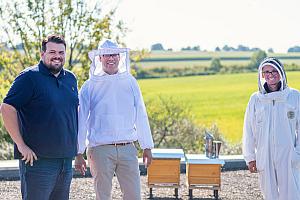 JUNG Bienenpatenschaft GF - Jung since 1828 startet Bienenprojekt