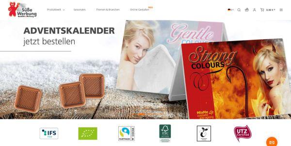 kalfany screenshot d - Kalfany Süße Werbung: Neuer Online-Auftritt