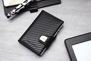 CLICK SLIDE Wallet LEATHER LINE Black - brands4emotions: Exklusivvertrieb von Tru Virtu
