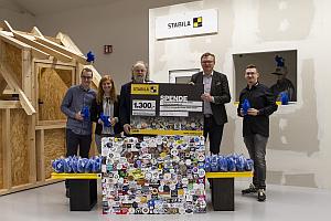 STABILA Stickers for childr Scheckübergabe DKSB - Stabila: Spende für den Kinderschutzbund