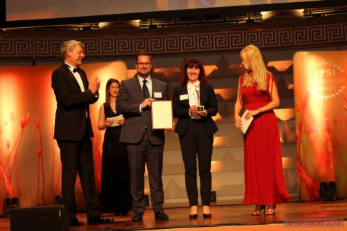 PSI Sustainability Awards 17 DCE